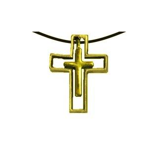 Anhänger Kreuz im Kreuz gold