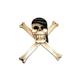 Piratenmaske schwarz