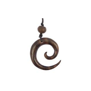 Holzkette Spirale
