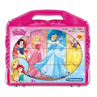 Blöcke Puzzle Cubi 12 - 12 Blocks Princess