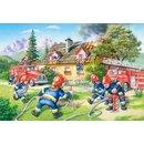 Feuerwehr Boden Puzzle 40 Stück Maxi