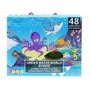 Unterwasserboden Puzzle Welt 48 Teile