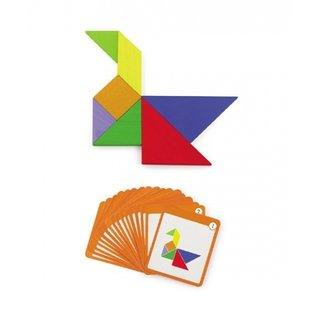 55-Teiliges Mehrfarbiges Magnetpuzzle