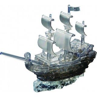 3D Black Pirate Ship: 101 Stück