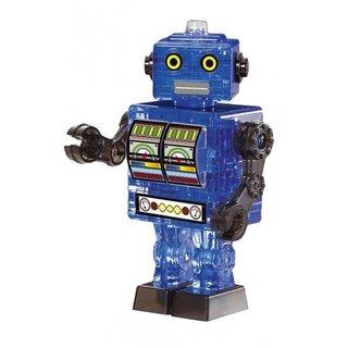 3D Robot Blau 39 Stück