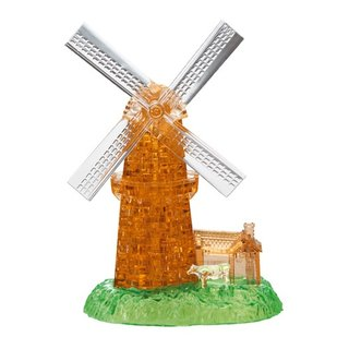 3D-Puzzle-Stücke Windmühle 64
