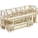 Holz 3D Puzzle London Bus 23,2 Cm