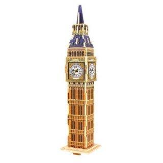 3D Puzzle Big Ben Holz 20,5 Cm 24-Teilig