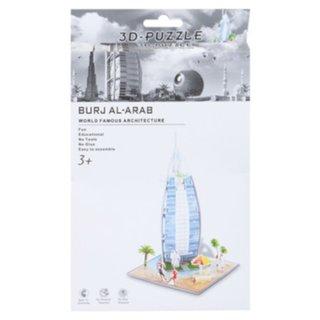 3D Puzzle Burj Al-Arab Schaumstoff 39 Teile