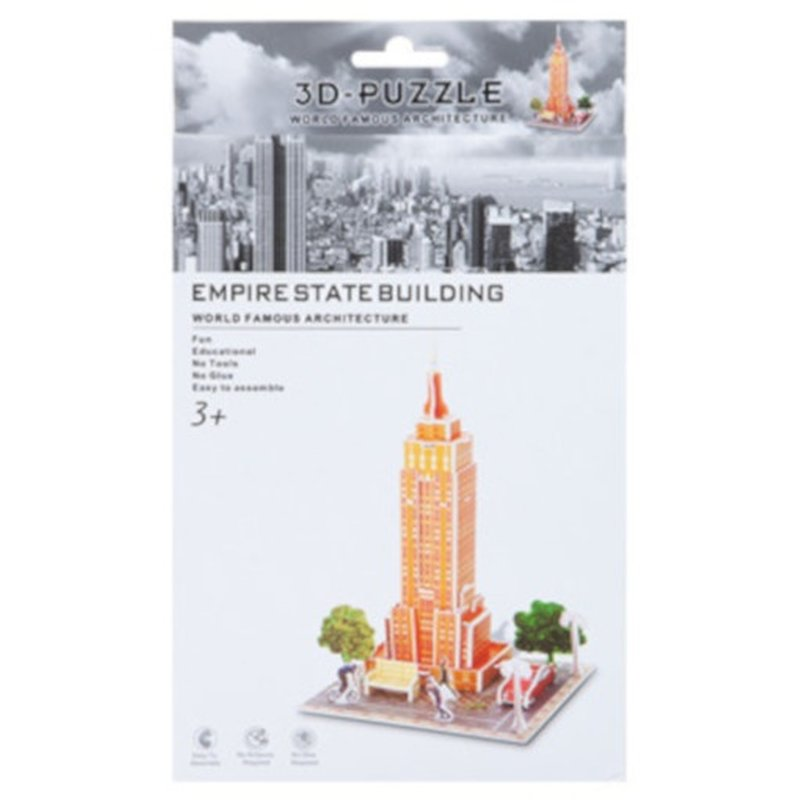 3D Puzzle Empire State Building Schaumstoff 30 Teile