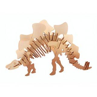 3D Dinosaurier Puzzle Holz Stegosaurus