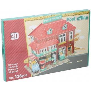 Puzzle 3D-Postamt 128 Teile