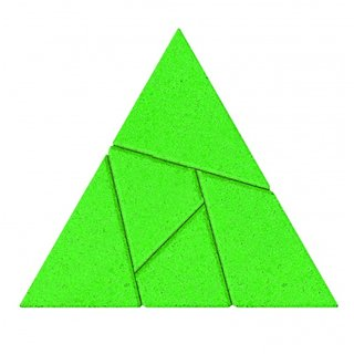 Stones Puzzle: Triangle