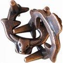 Brain Teaser Nachtwacht Ringe Bronze