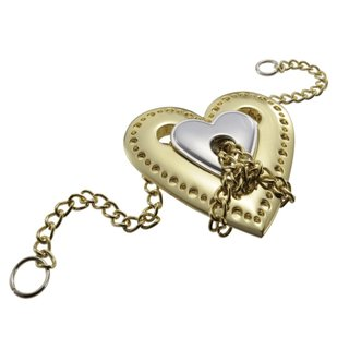 Brain Teaser Cast Heart Silber / Gold