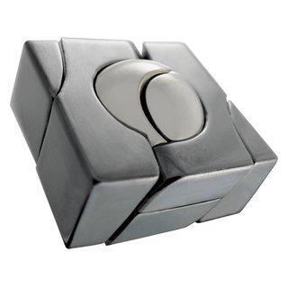 Brain Teaser Cast Marmor Silber