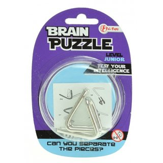 Braincracker Brain Puzzlejunior Silber