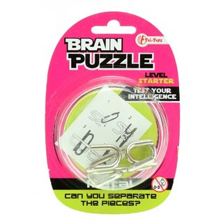 Brain Cracker Brain Puzzlestarter Silber