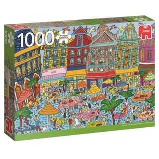 Pc Sightseeing Grand Place Brüssel 1000 Puzzleteile