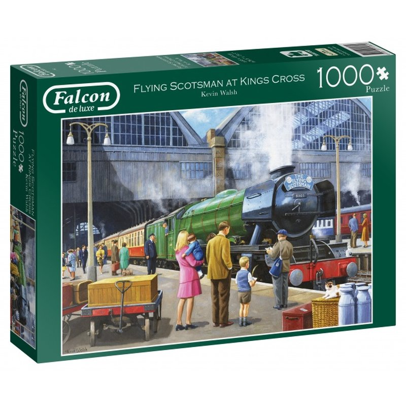 Falcon Flying Scotsman In Kings Cross In 1000 Stück
