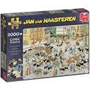 Puzzle Jan Van Haasteren De Veemarkt  2000 Teile