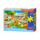 Puzzle Zoo Besuch 60 Teile