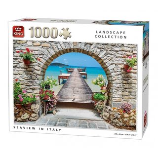 Puzzle Meerblick In Italien 1000 Teile