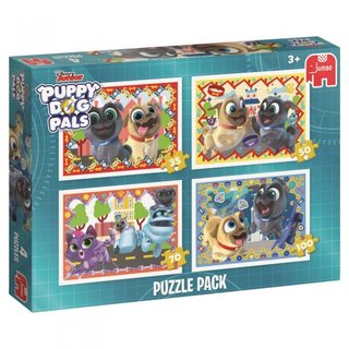 Puzzle Welpe Hundefreunde 4-In-1 35/50/70/100 Teile