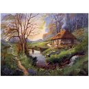 Puzzle Cottage In The Woods 1000 Teile