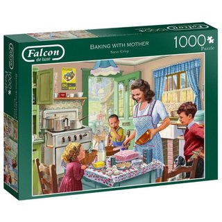 Puzzle Baking With Mother 1000 Teile