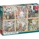 Puzzle Anton Pieck Handwerk 1000 Teile