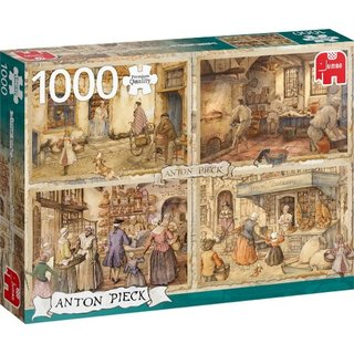 Anton Pieck Bäcker Aus Dem 19. Jahrhundert 1000 Stück
