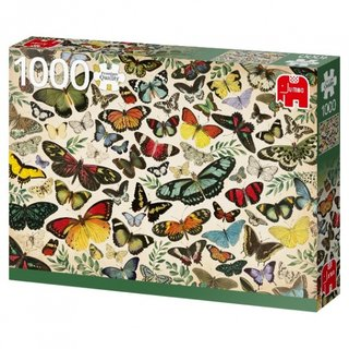 Puzzle Schmetterling Poster 1000 Teile