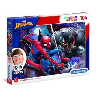 Puzzle 3D Vision Spider - Mann 104 Teile