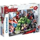 Supercolor Maxi Puzzle Rächer 104 Teile