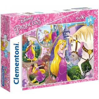 Superfarbiges Maxi-Puzzle Disney Prinzessin 24 Teile