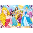 Maxi Superfarbiges Puzzle Disney Prinzessin 104 Teile