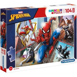 Superfarbiges Maxi-Puzzle Spider-Man 104 Teile