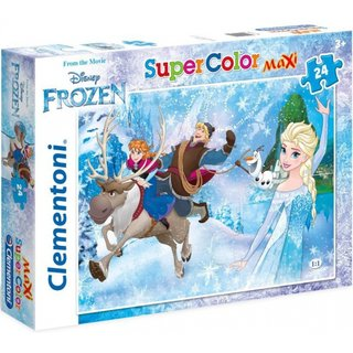 Maxi Superfarbiges Puzzle Gefroren 24 Teile