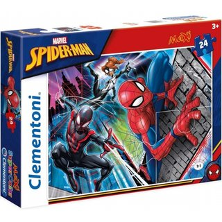 Maxi Superfarbiges Puzzle Spider-Man 24 Teile