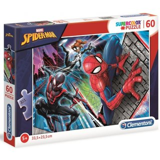 Superfarbiges Puzzle Spider-Man 60 Teile