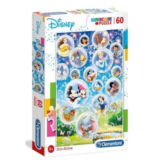 Superfarbiges Puzzle Disney Charaktere 60 Teile