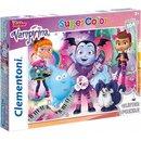 Superfarbiges Glitzerpuzzle Vampirina 104 Teile