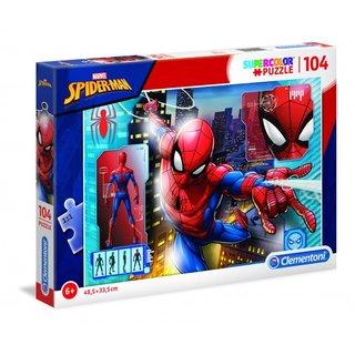 Superfarbiges Spider-Man Puzzle 104 Teile