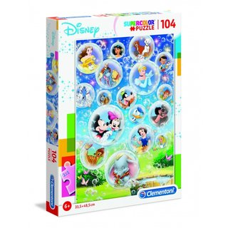 Superfarbiges Disney Puzzle 104 Teile
