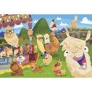 Supercolor Lama Puzzle 104 Teile
