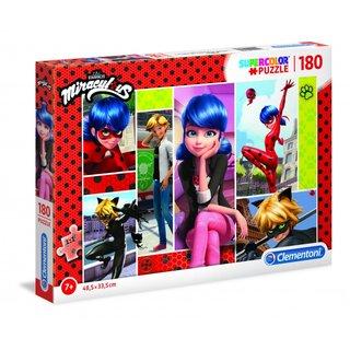 Superfarbig Wunderbares Puzzle 180 Teile