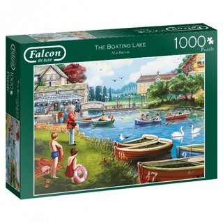 Puzzle Falcon The Boating Lake1000 Teile