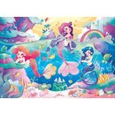 Puzzle Unter Dem Meer Glitzer Mädchen 104 Teile