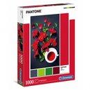 Puzzle Pantoneroter Hibiskus 1000 Teile